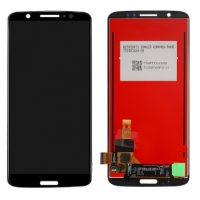 Replace your LCD Display for Motorola Moto G6 Plus XT1926 with Touch Screen Replacement Combo Folder Assembly - Black