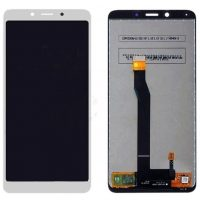 Want to repair my screen of LCD Display for Xiaomi Redmi 6A, Xiaomi Redmi 6 with Touch Screen Replacement Combo Folder Assembly - White