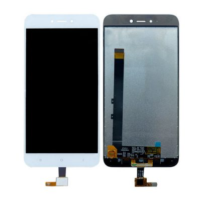 Change your glass of LCD Display for Xiaomi Redmi Y1 Lite with Touch Screen Replacement Combo Folder Assembly - White