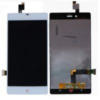 Replace your LCD Display for ZTE Nubia Z9 Mini NX511J with Touch Screen Replacement Combo Folder Assembly - White