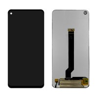 Replace / Repair Your Broken Screen Using this parts of LCD Display with Touch Screen Replacement Combo Folder Assembly For Samsung Galaxy A60, M40 - Black