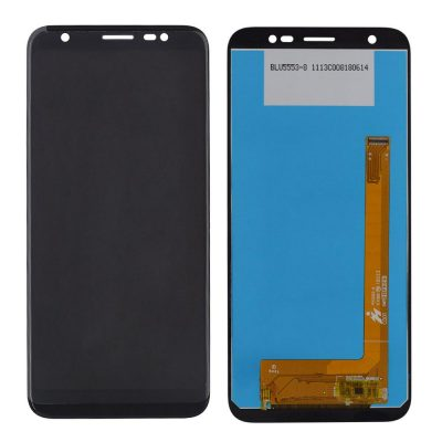 LCD Dispaly with Touch Screen Replacement Combo Folder Assembly For YU Ace YU5014, YU 5014, YU-5014 - Black